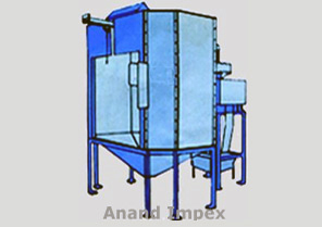 Booth Reciprocator Powder Coating